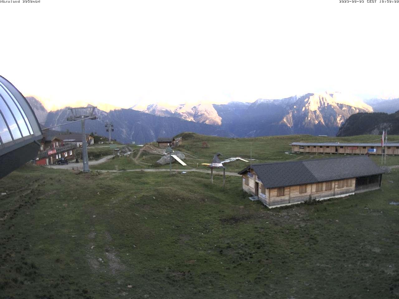 Standort, Bergstation Chiematte 2047 m.ü.M